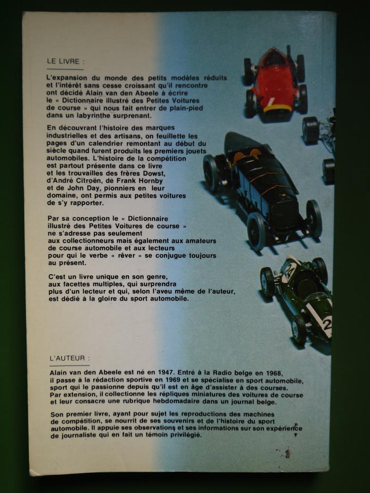 Bouquinerie Belgicana +++ Dictionnaire illustré des petites voitures ...