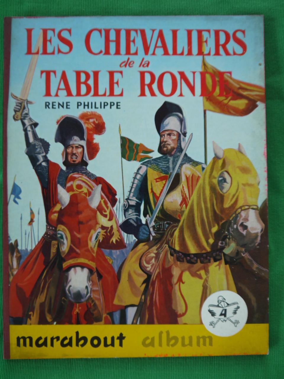 Bouquinerie Belgicana Les Chevaliers De La Table Ronde Rene